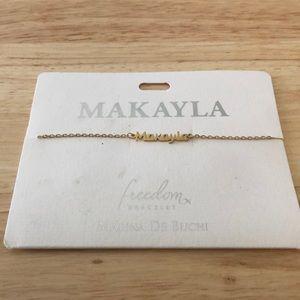 Makayla Name Bracelet